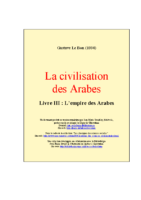 Arabes livre 3