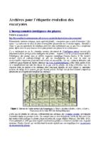 Archives pour l'étiquette évolution des eucaryotes