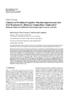 Clinical and Preclinical Cognitive Function Improvement after Oral Treatment of a Botanical Composition