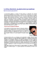 Le bêta-sitostérol, un phytostérol prometteur