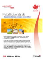 Phytosterols_stanols_Complémentaires à une saine alimentation