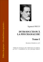 Freud introduction a la psychanalyse 1