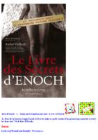 LE LIVRE D' HENOCH COMPLET