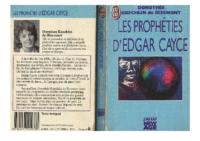 Les prophéties d'Edgar Cayce-Koechlin De Bizemont Dorothée-Marguerite
