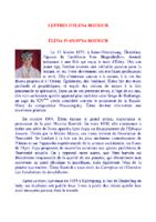 Lettres d'Éléna Roerich