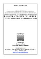 MS COSTE STRATEGIES DU FUTUR