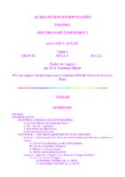Traité sur les Sept Rayons (Volume 1) – Psychologie Esotérique