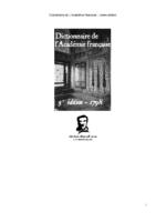 dictionnaire academie francaise 5eme edition1798
