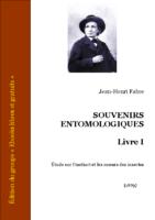 fabre souvenirs entomologiques livre 1