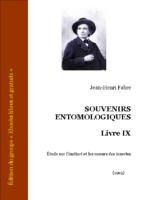 fabre souvenirs entomologiques livre 9